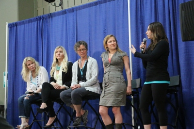 from left to right: Dr. Ruthie Harper, Dr. Lauren Noel, Dr. Deborah Gordon, Stefani Ruper and Diane Sanfilippo